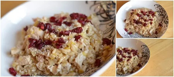 Turkey and Cranberry Risotto Recipe