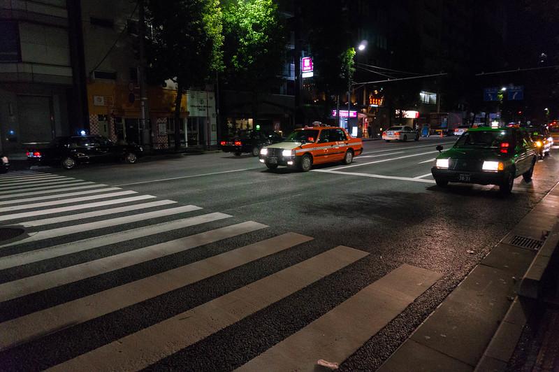 tokyo om aftenen
