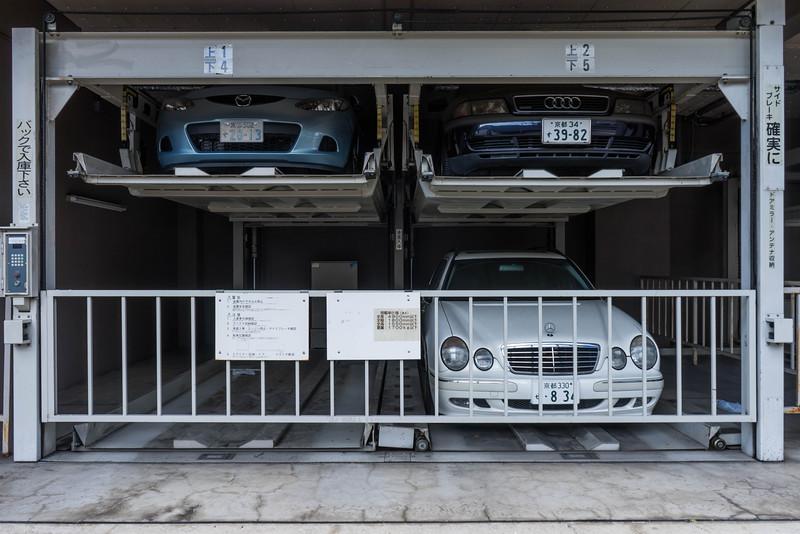 japansk parkering