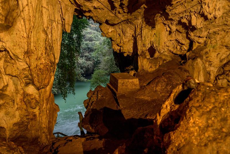 grotte indgang