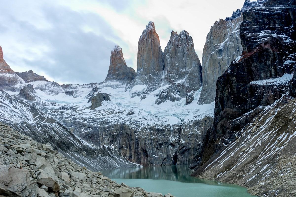 patagonien billeder torres del paine