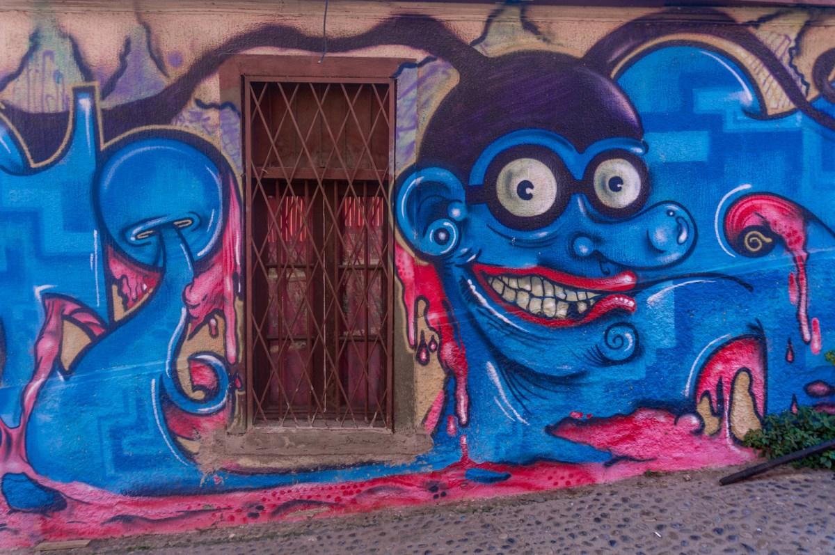 underlig graffiti
