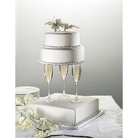 Fake Wedding Cakes and Cupcakes
