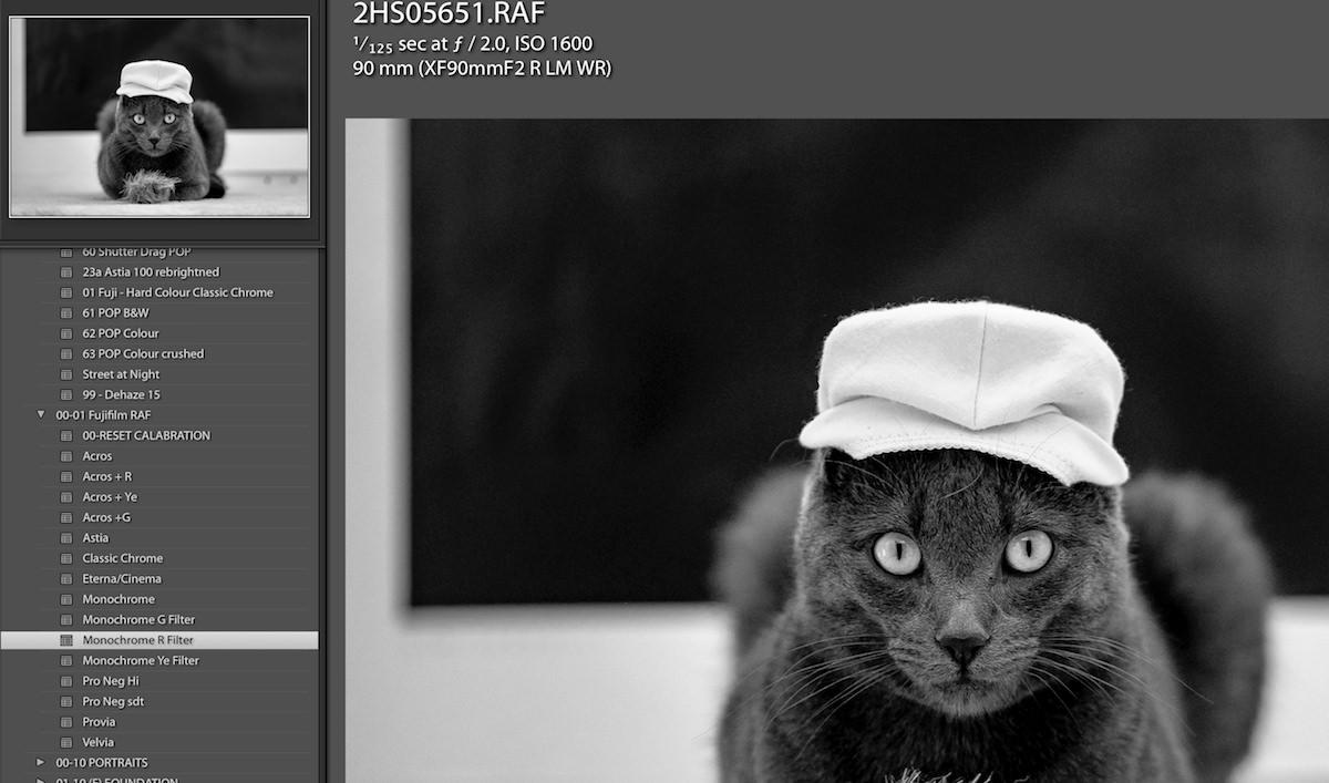 Fujifilm Profiles : Lightroom Presets