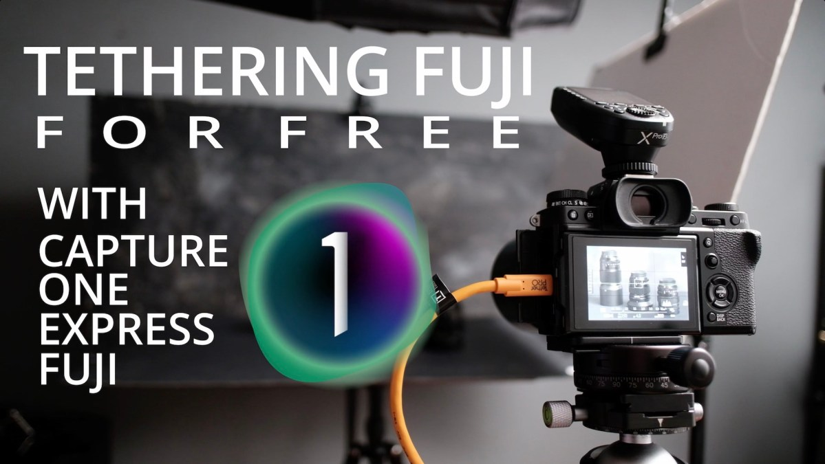 Tethering with Fuji for FREE, Capture One Express