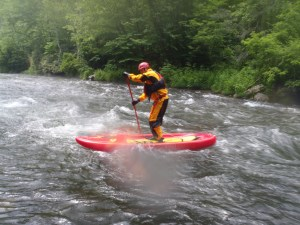 Martin - SUP on the Nantahala