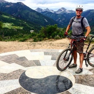 Snowmass Rim Trail's Yin-Yang: Equal parts up & down for this fun, flowing and scenic MTB ride.
