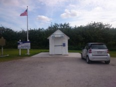 The smallest US post office was just down the street from our campground.