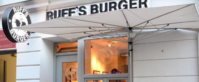 Ruffs Burger Außenansicht