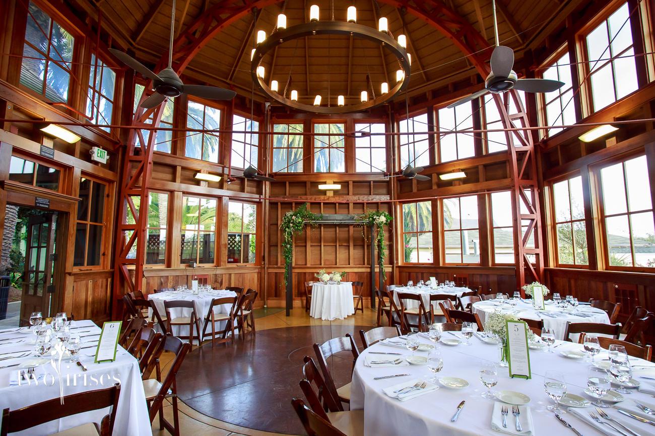 San Francisco Sunnyside Conservatory Wedding Two Irises