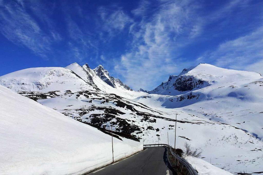 ATrakcje Norwegii - Park Narodowy Jostedalsbreen