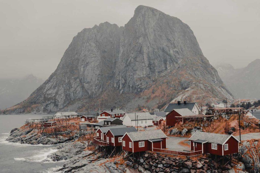 Atrakcje Norwegii - wyspy Lofoty