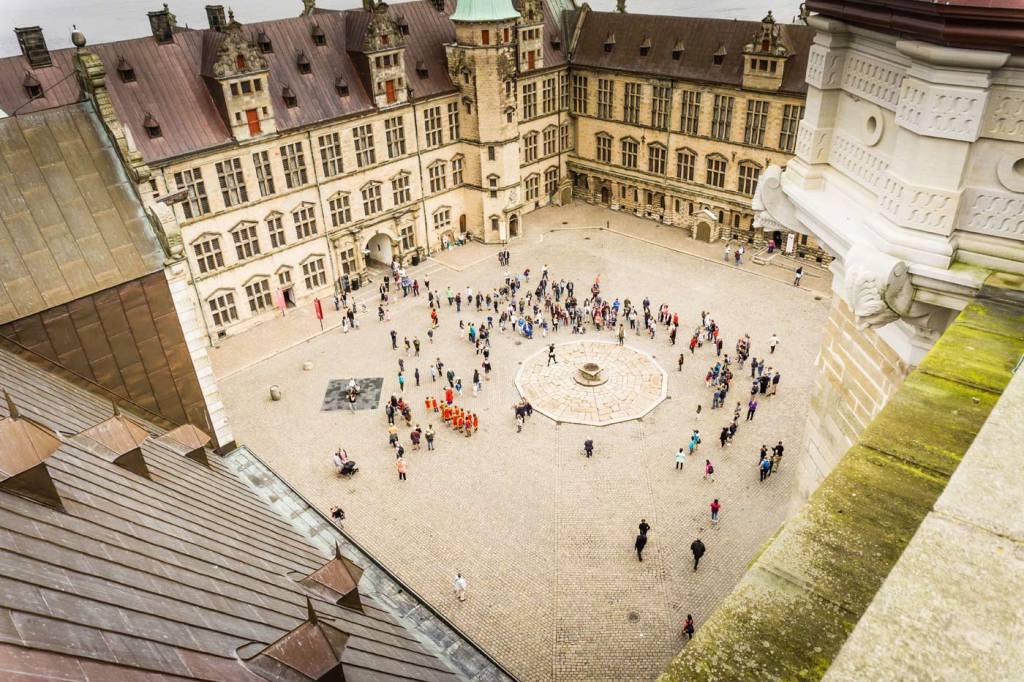 Atrakcje turystyczne Danii. Zamek Kronborg w Danii