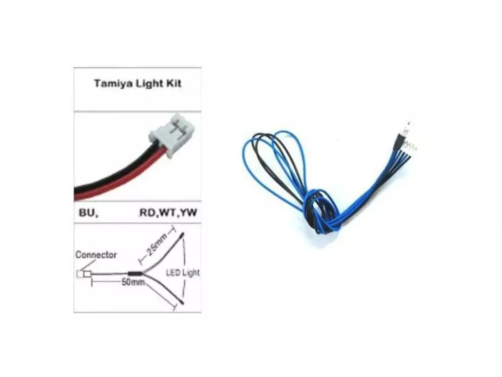 3mm Blue Leds Wiring For Tamiya Led Light Unit Tlu 01
