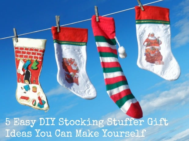 5 easy diy stocking stuffer gift ideas you can make for Holiday craft fair napa ca
