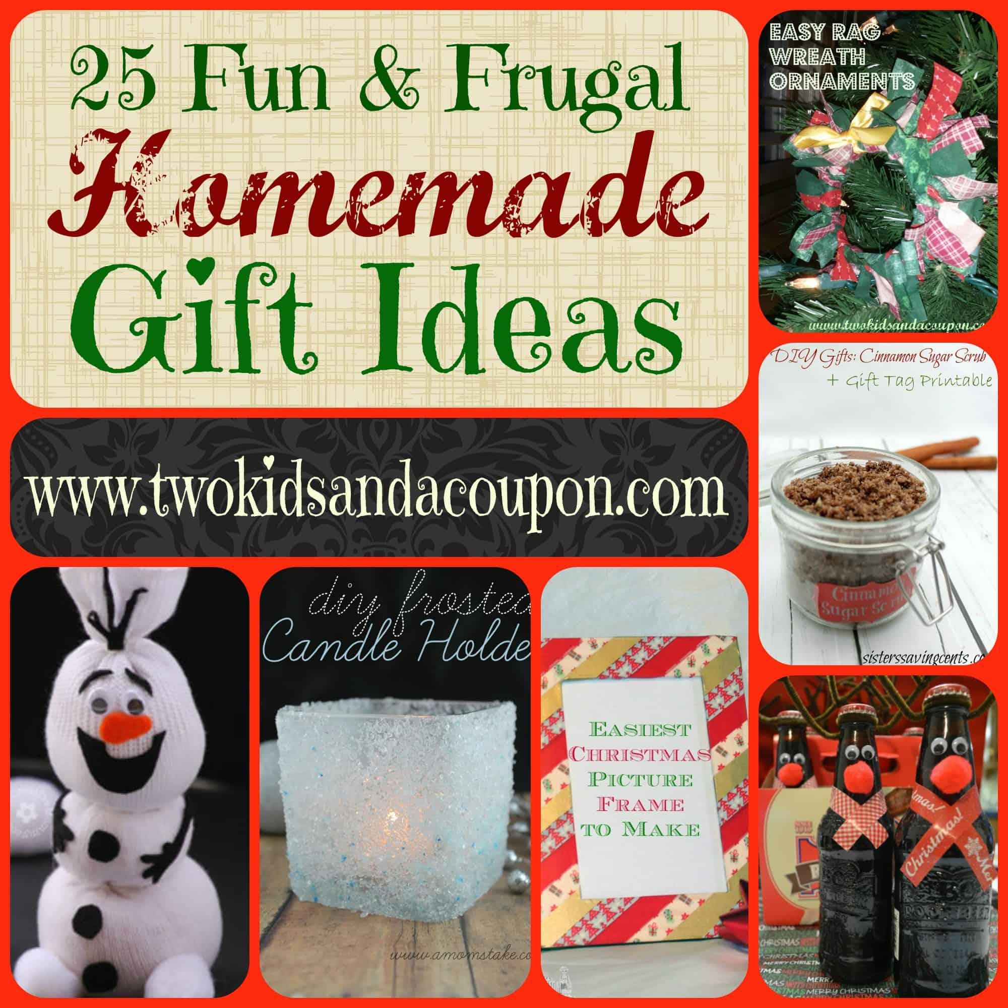 25 easy homemade holiday gift ideas