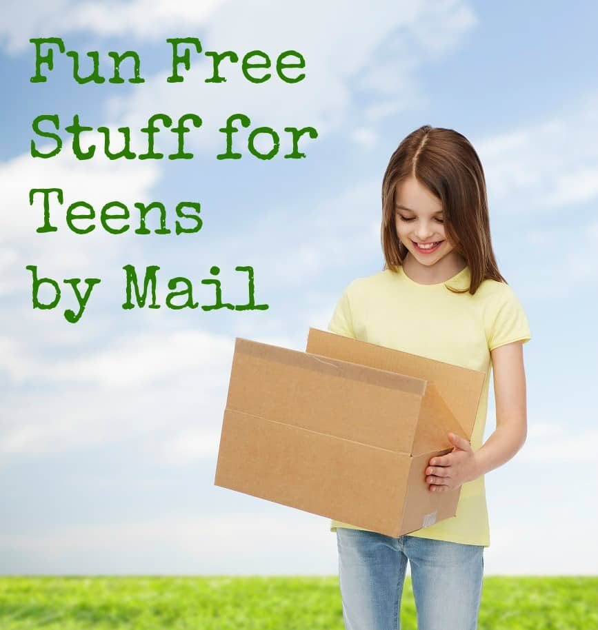 fun free stuff for teens by mail