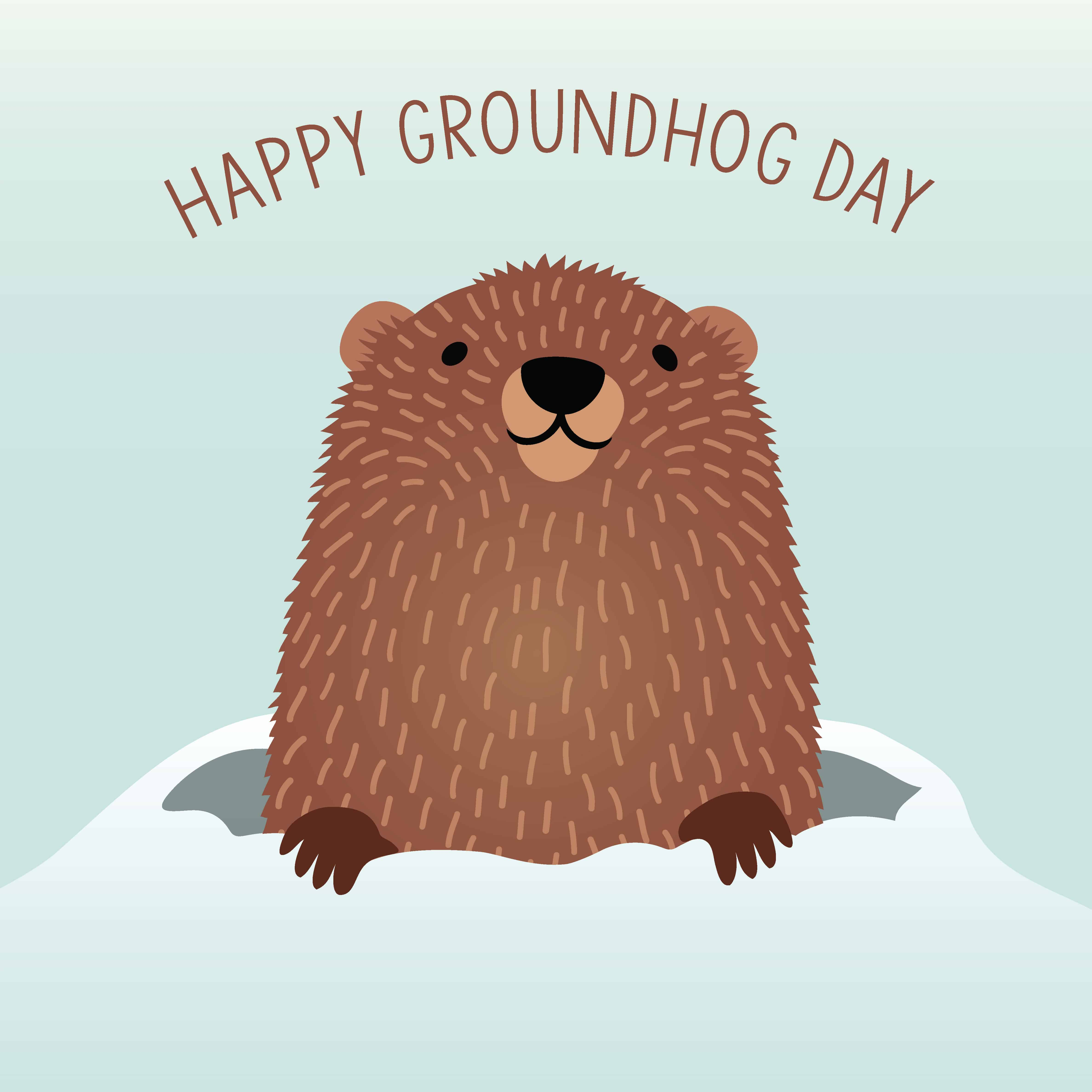 Free Printable Groundhog Day Word Search
