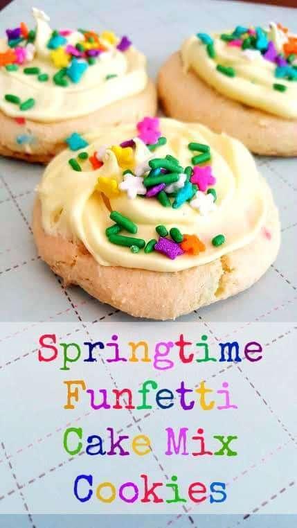 Pillsbury Spring Funfetti Cake Mix Recipes