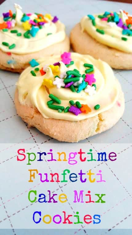 Pillsbury Funfetti Cake Mix Cookie Recipe