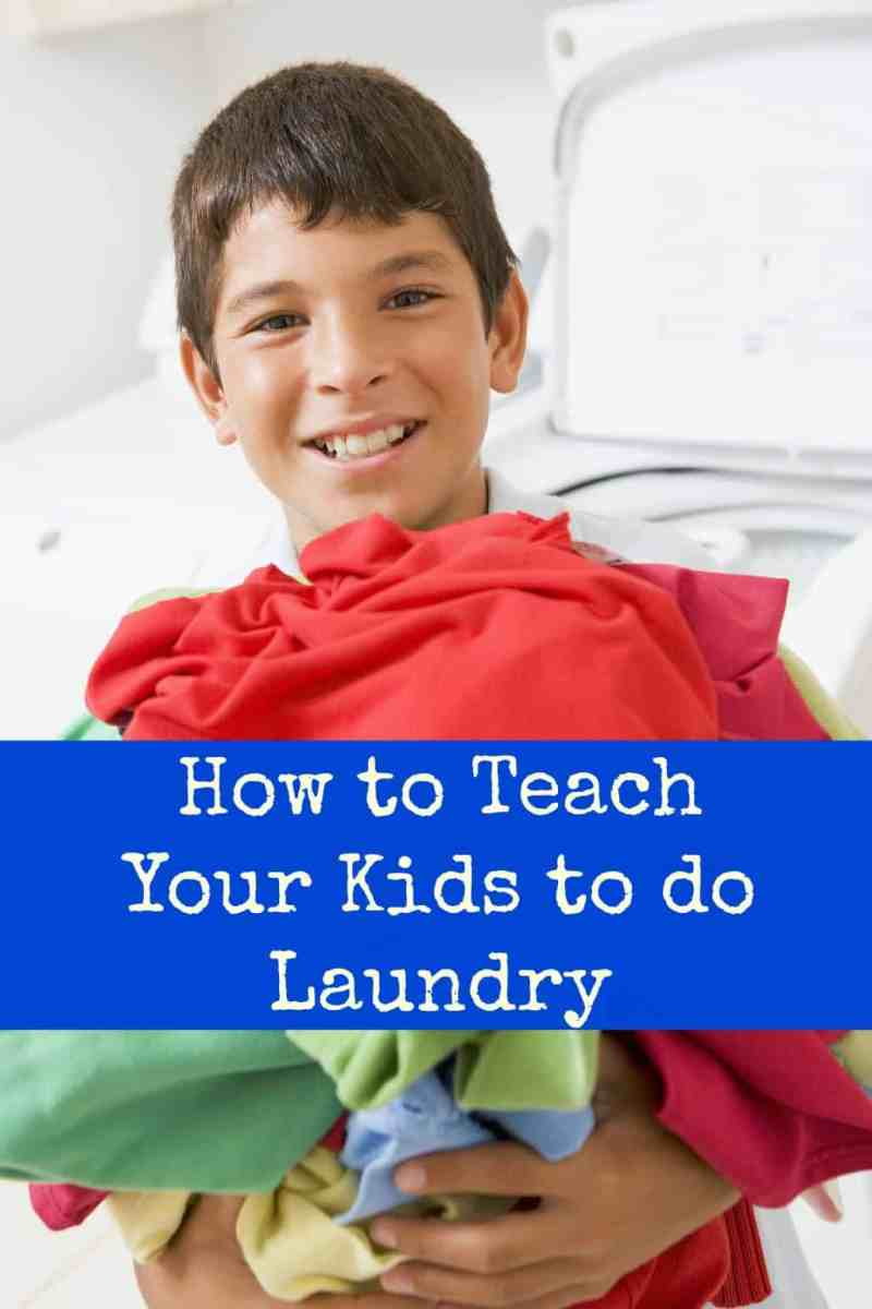 Teach Your Four Year Old To Read: How To Teach Your Kids To Do Laundry