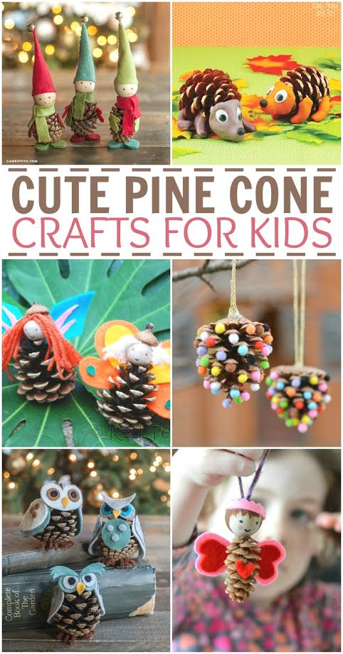 Cute Pine Cone Crafts For Kids Two Kids And A Coupon