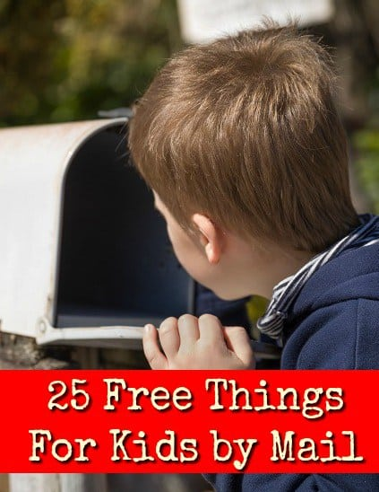 25 Free Things For Kids by Mail   Two Kids and a Coupon