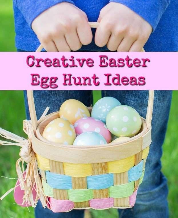 Creative Easter Egg Hunt Ideas