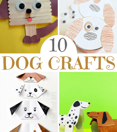 Dog craft ideas for kids two kids and a coupon for Dog craft ideas