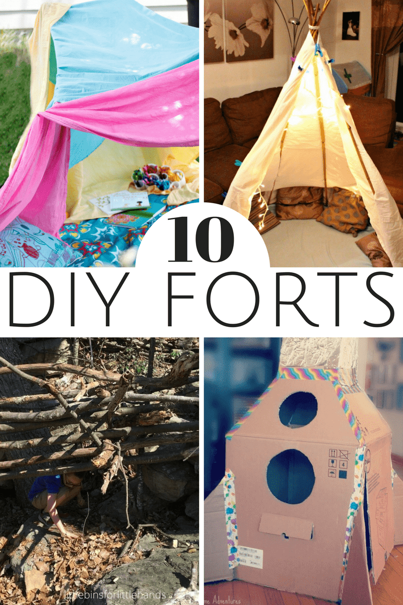10 Fun Diy Forts For Kids Two Kids And A Coupon