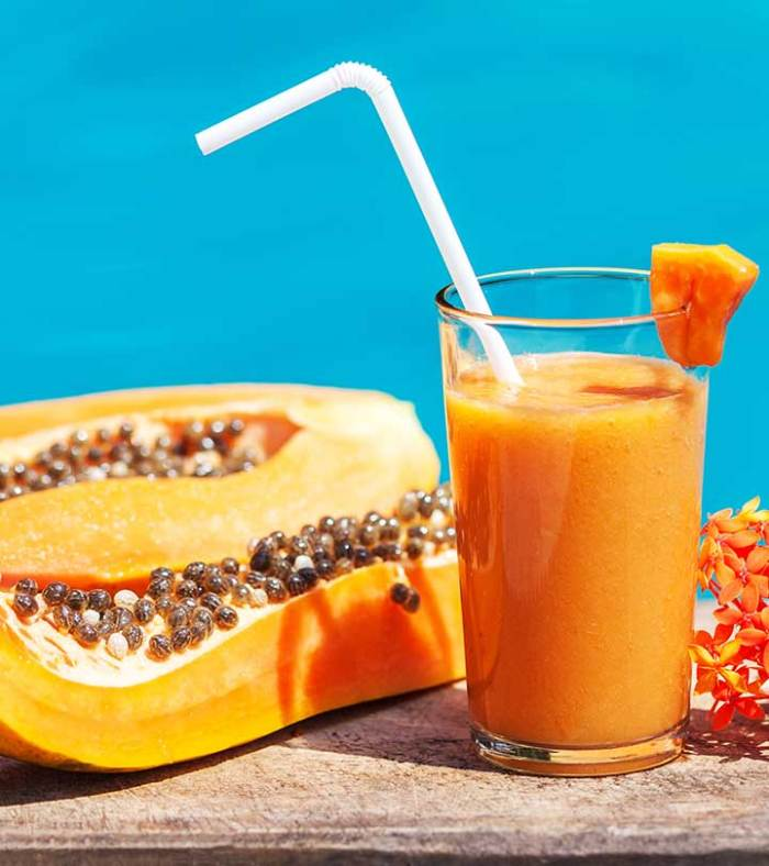 Summer Skin Care With Juice