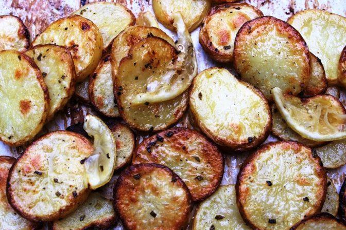 Roasted Lemon-Rosemary Potatoes