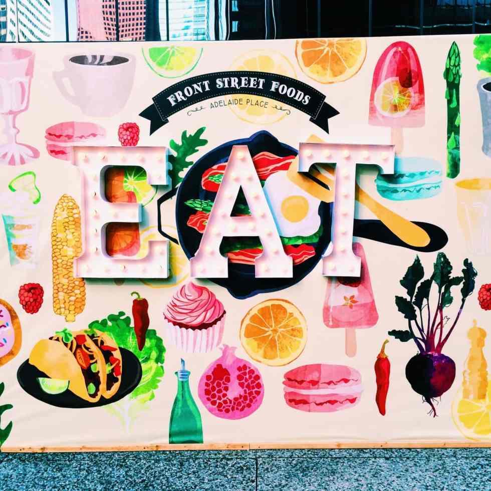 Front Street Foods Review – York & University, Toronto