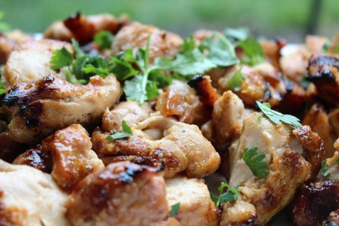 Spicy Honey-Lime Sriracha Chicken