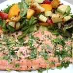 Herb Roasted Rainbow Trout