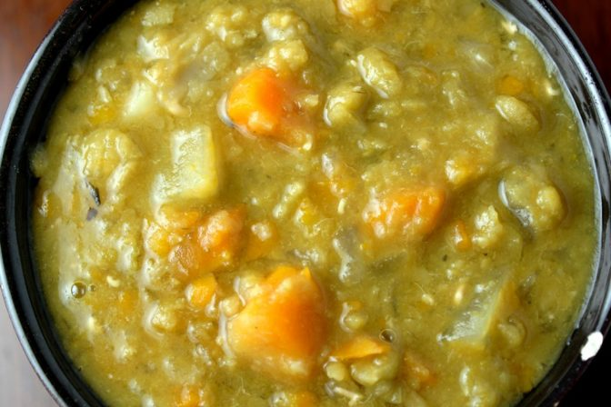 Vegetarian Pea Soup