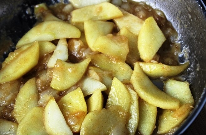 apple pear filling and topping