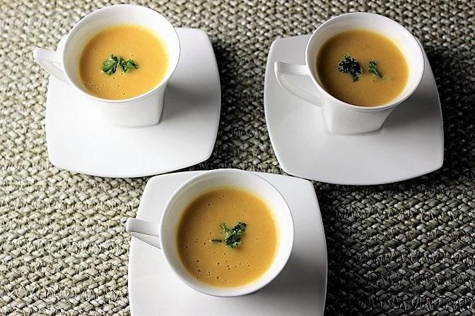 Thai-inspired butternut squash soup