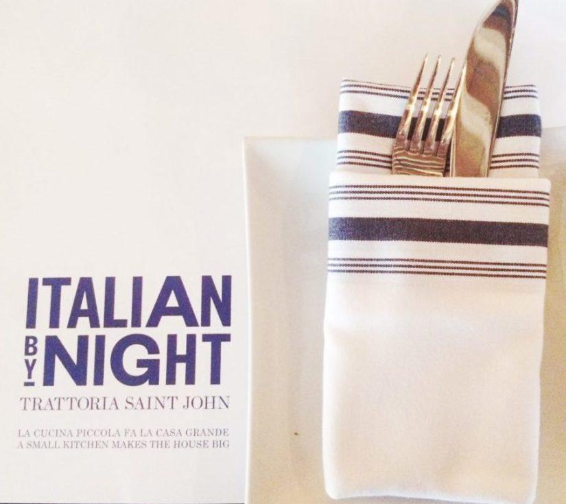 Italian By Night Restaurant Review – Saint John, New Brunswick