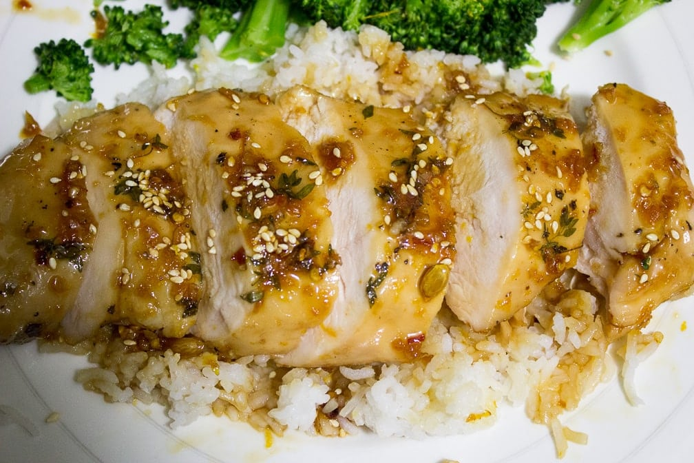 Maple-Citrus Glazed Sous Vide Chicken