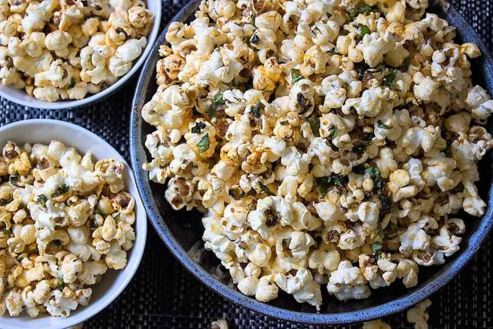 Spiced Herb Popcorn
