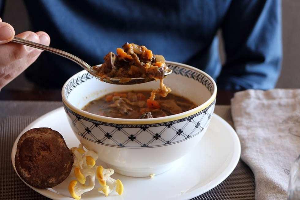 Kendal Hills Mushroom & Vegetable Vegan Soup
