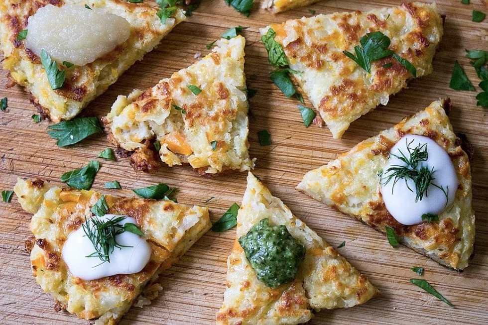 Potato Latkes (Oven or Fried)