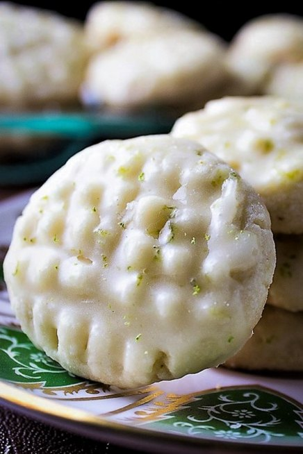 Perfect Lime-Glazed Shortbread Cookies (Shortcut)