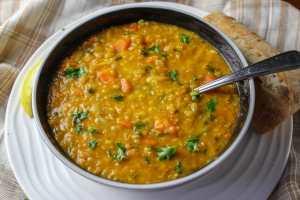 Red Lentil Vegetable Soup