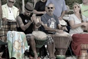 The Drum Circle at Siesta Key