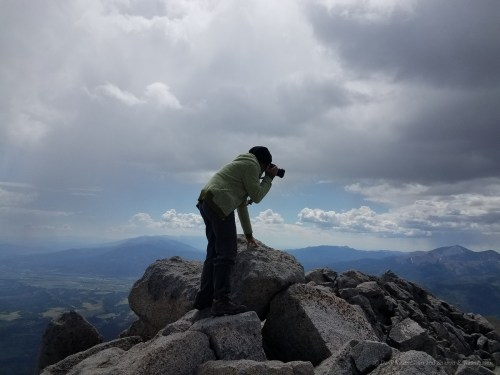High atop Mt. Shavano