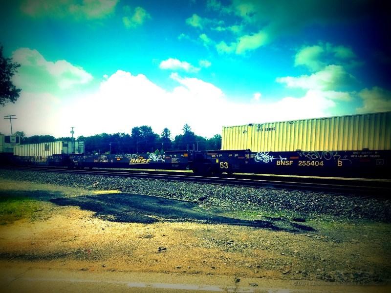 Goshen Railroad Crossing