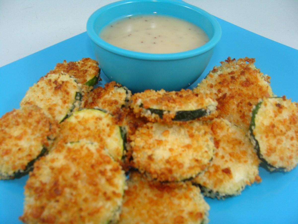 Cooking For Dogs - Baked Zucchini Sticks