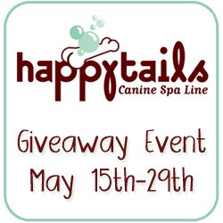 HappyTailsSpa Giveaway Event